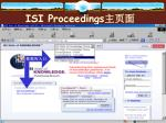 isi proceedings3