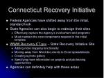 connecticut recovery initiative2
