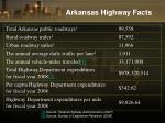 arkansas highway facts