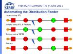 automating the distribution feeder1
