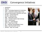 convergence initiatives