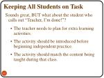 keeping all students on task4
