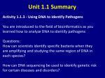 unit 1 1 summary5