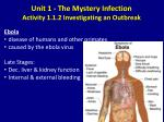 unit 1 the mystery infection activity 1 1 2 investigating an outbreak4