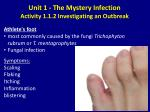 unit 1 the mystery infection activity 1 1 2 investigating an outbreak7