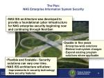 the plan nas enterprise information system security