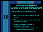 information systems architecture and management4