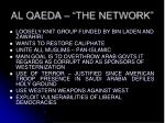al qaeda the network