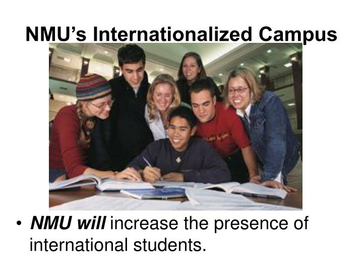 NMU's Internationalized Campus