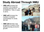 study abroad through nmu