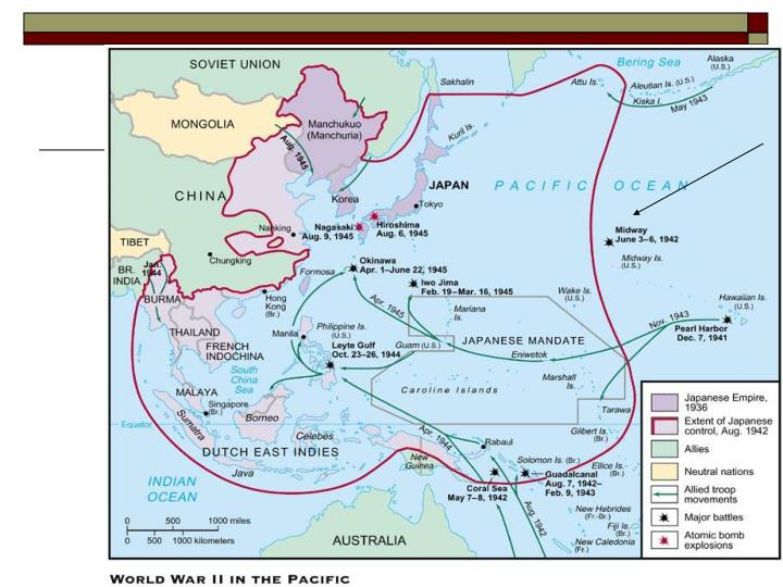 Section three the war in the pacific