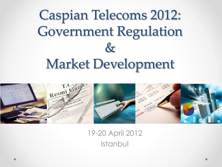 caspian telecoms 2012 government regulation market development n.