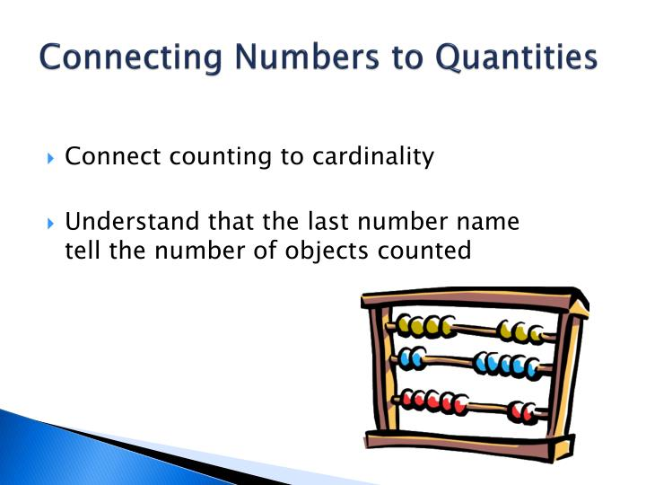 Connecting Numbers to Quantities