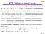 ieee 754 computation example