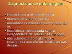 diagn sticos de enfermagem