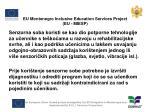 eu montenegro inclusive education services project eu miesp1