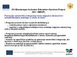 eu montenegro inclusive education services project eu miesp7