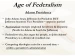 age of federalism10