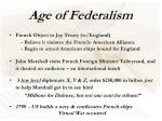 age of federalism11