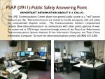 psap 911 public safety answering point