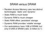 sram versus dram