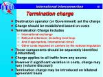 termination charge