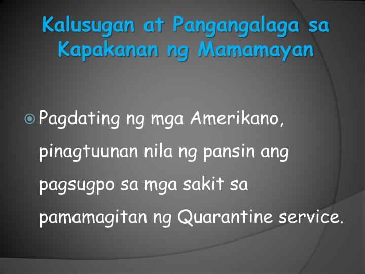Pagdating ng mga amerikano sa pilipinas ppt presentation