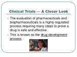 clinical trials a closer look1
