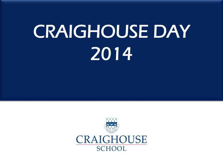 craighouse day 2014 n.
