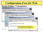 configuration d un site web10