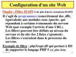 configuration d un site web15