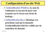 configuration d un site web26