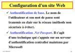 configuration d un site web27