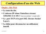 configuration d un site web3