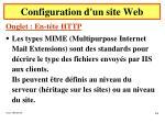 configuration d un site web36