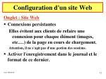 configuration d un site web4