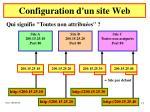 configuration d un site web5