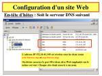 configuration d un site web7