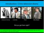 introduction crime television drama1