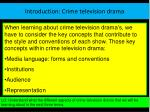 introduction crime television drama6