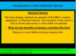 introduction crime television drama9