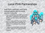 local pha partnerships