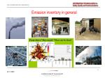 emission inventory in general
