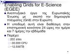 enabling grids for e science egee