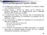 workload management system wms