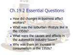 ch 19 2 essential questions