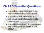 ch 19 3 essential questions