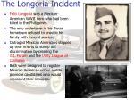 the longoria incident