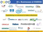 20 businesses @ egee06