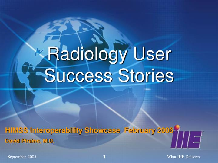 radiology user success stories n.